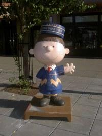 Charlie 'Loser' Brown Statue, Downtown Santa Rosa, CA