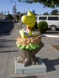Woodstock Statue, Downtown Santa Rosa, CA