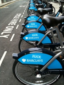 Fuck Barclays Cycle Hire